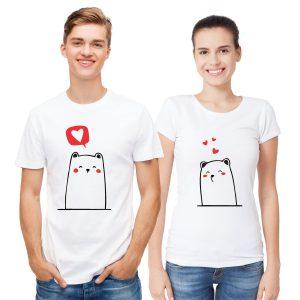 Bear Couples T Shirts