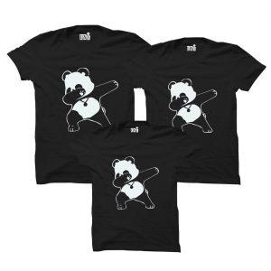Panda Family T-shirts