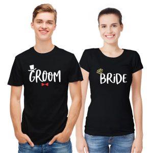 Groom Bride T shirt